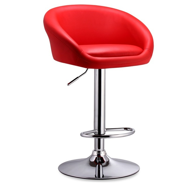 tall swivel chair folding office chairs padded ecdaily kerun bar continental front silver stool lift child free ship