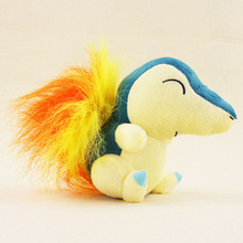 14cm Cyndaquil Plush Figures Toys Stuffed Anime Cartoon Toys Dolls Gift for Children Free Shipping