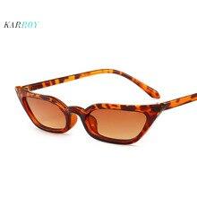 2019 New Fashion Personality Cat Eye UV400 Women Sunglasses Retro Small Frame Colorful Sun Glasses