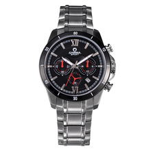 Hot CASIMA model males's vogue sports activities watches luxurious basic multi operate males quartz watch stainless-steel waterproof #8301