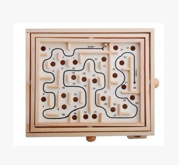 Adult children old man  puzzle board game toys balance steel ball ball maze can customize the tracks 36 wooden toys virgo the wooden puzzle 1000 pieces ersion jigsaw puzzle white card adult heart disease mental relax 12 constellation toys
