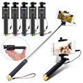 New Extendable Handheld Selfie Stick Monopod Tripod for With Built-in Shutter For Android IOS iPhone 6/ 6S Plus Camera