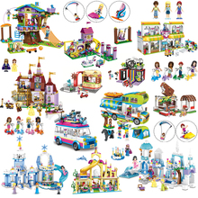491 шт Лепин модель строительные блоки город Pet центр девочек друзья здания Кирпичи совместимы LegoINGly для девочек Рисунок Игрушки