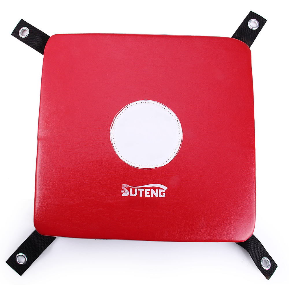 SUTENG Leather Wall Punch Boxing Bags Focus Target Pad Coated Square Foam Taekowndo MMA Karate Training Bag Sandbag Punching Bag