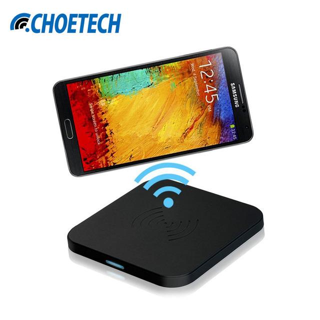 Choetech anti de goma antideslizante inalámbrica qi, placa de carga con micro usb cable del cargador de 7.5 w para galaxy s7 edge/s6 edge/para nexus 4/5/6