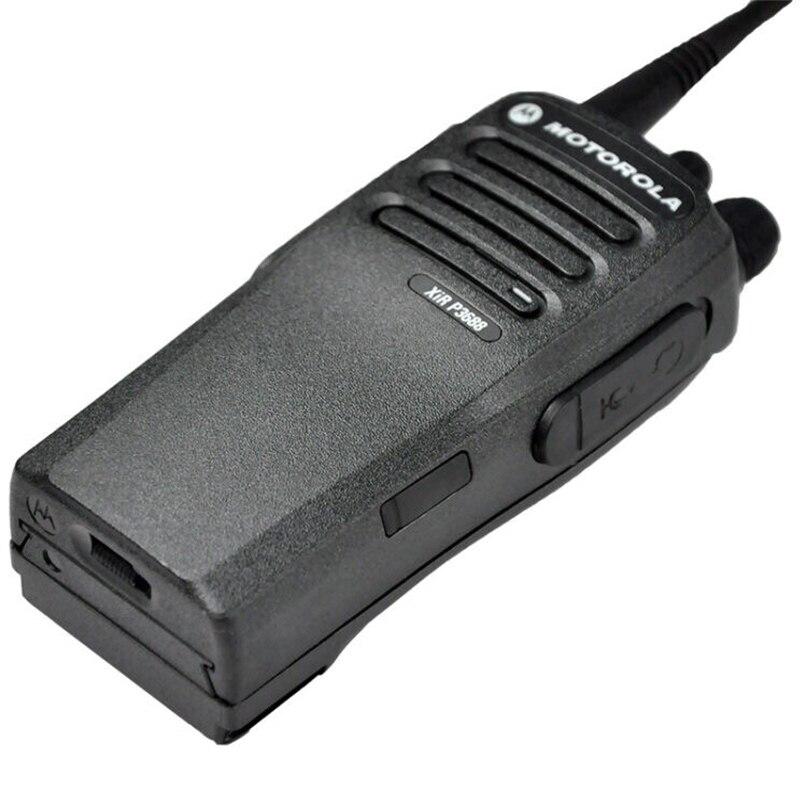 band digital Motorola XIR P3688 digital / analog walkie talkie dual-band waterproof and dustproof high power handheld portable transceiver (4)