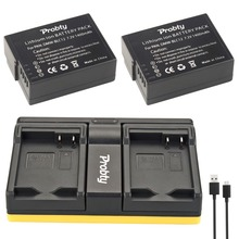 Câmera plus Usb Carregador para Panasonic Probty 2 Pcs Dmw-blc12 Dmw Blc12 Bateria Dual Fz1000 Dmc-gh2 Fz200 Fz300 G5 G6 G7