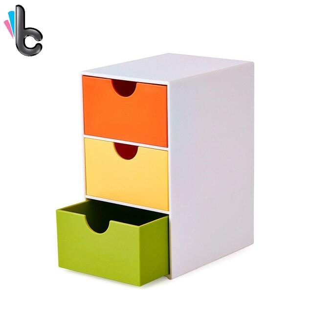 3 tiroirs Boîte De Rangement Mini Multi fonction Accueil