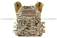 military tactical vest molle 1000D Airsoft Emerson JPC Tactical Vest Simplefied Version (AOR1 AT Marpat Woodland) em7344e