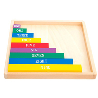 MamimamiHome Baby Wooden Toys Color Fractional Sticks Montessori's Early Teaching Aids Toys For Children Building Blocks