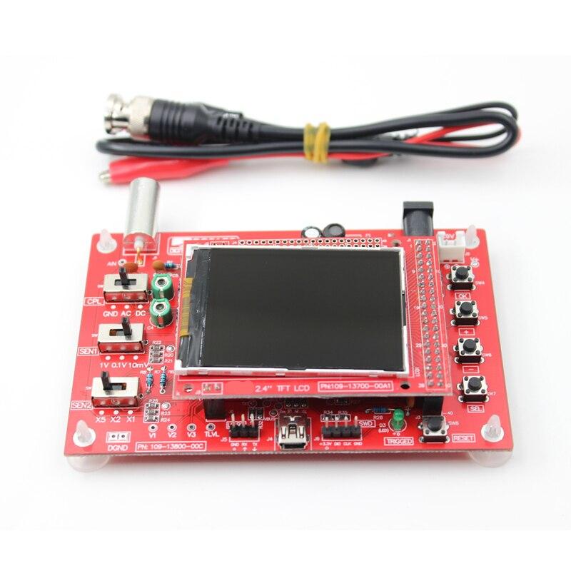 DSO138 2.4 TFT De Poche Pocket-taille Numérique Oscilloscope Kit DIY Pièces pour Oscilloscope Électronique D'apprentissage Ensemble Raspberry pi 2