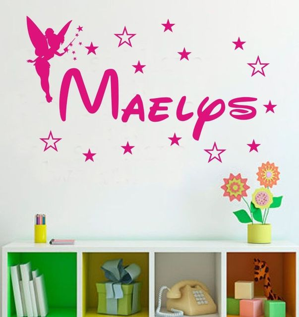 Princess Girls Room Decoration Custom Name Spirit Kids Wall ...