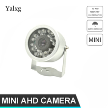 Home Security HD 720P/1080P CCTV Wired AHD Mini Camera 24LED IR Night Vision IP66 Outdoor Waterproof Video Surveillance Camera