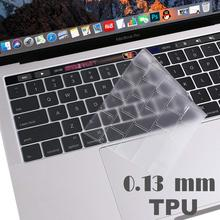 0.13mmTPU For Apple Macbook pro13/11Air 13/15Retina12inch All  keyboard cover Ultra-thin case clear protecter film EU/US version все цены