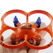 U207 6 Axis Gyro 4CH Radio Management Drone Orange Quadcopter UFO Toys-US Delivery