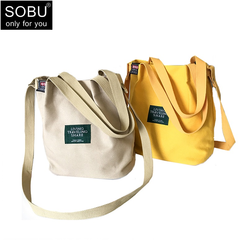 2018 NEW Hot Lady Canvas Handbag big Single Shoulder Bag Crossbody Messenger Bags Women Bucket Bag Large luxury women bag H070