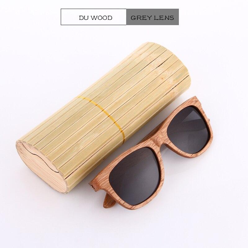 EZREAL Ahşap Güneş Gözlüğü Bambu marka güneş gözlükleri - Elbise aksesuarları - Fotoğraf 2
