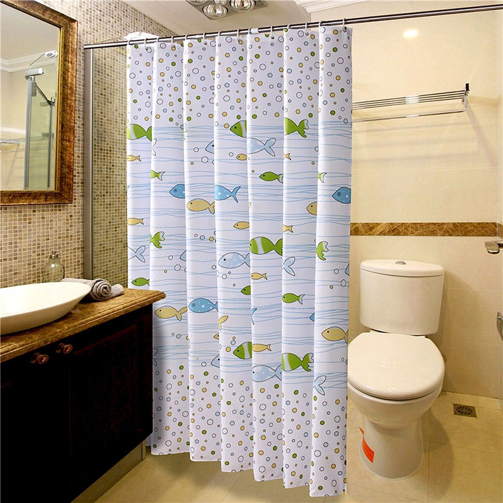 Buy fish shower curtain fabric and get free shipping on AliExpress.com