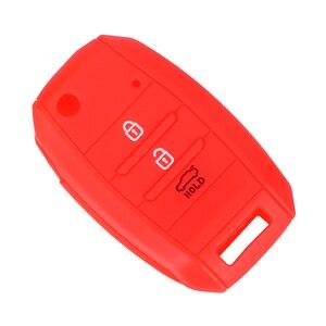 Image 3 - LEEPEE Car Key Case Shell Flip Folding Key Bag Cover Protector For KIA CEED Picanto Sorento Sportage Venga Rio Soul Carens