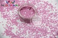 TCH307 2.0 MM Size Solventbestendige Mate Donker Roze Kleuren Diamond ruitvorm glitter voor nail art en andere deco