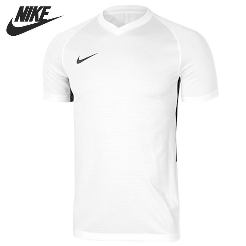 Nouveauté originale 2018 NIKE DRY TIEMPO PREM JSY T-shirts pour hommes vêtements de sport à manches courtes
