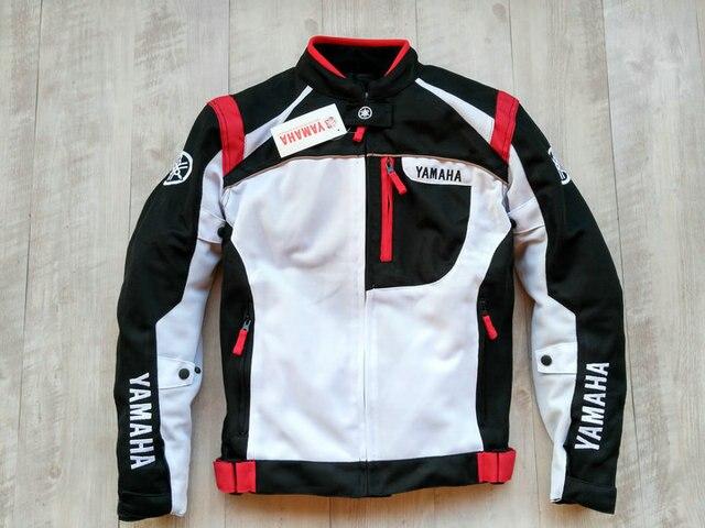 2018 verano Deportes de la motocicleta de malla textil chaqueta de montar  para YAMAHA Racing ropa 5636e0bc22004