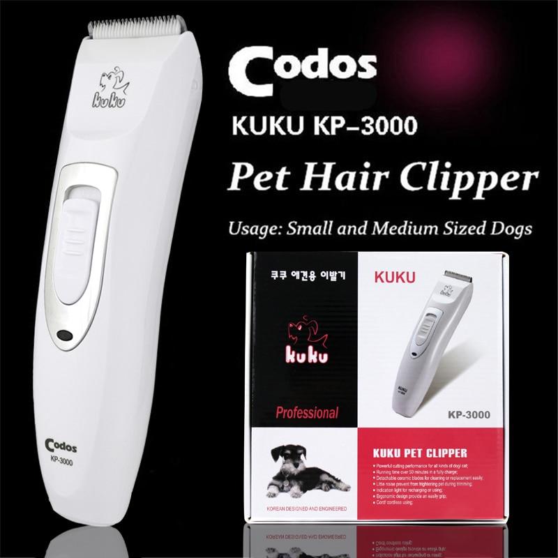 Professzionális Pet Trimmer Scissors kutya szarvasmarha nyulak borotva ló ápolás elektromos hajvágó vágógép Codos KP3000