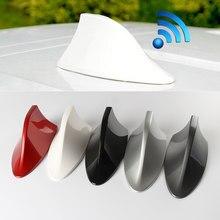 Antena de tubarão rádio do carro antenas tubarão fin fm antena auto para ford focus 2 3 fiesta mondeo ecosport kuga acessórios do carro estilo