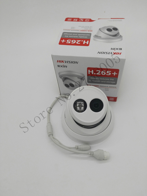 Hikvision Original English H.265 CCTV System 5pcs DS-2CD2355FWD-I 5MP H.265 IP Turret Camera POE+4K H.265 NVR DS-7608NI-I2/8P