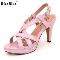 Size 32 43 Women S High Heel Sandals Gladiator Shoes Women Fashion Lady Sexy Platform Sandals
