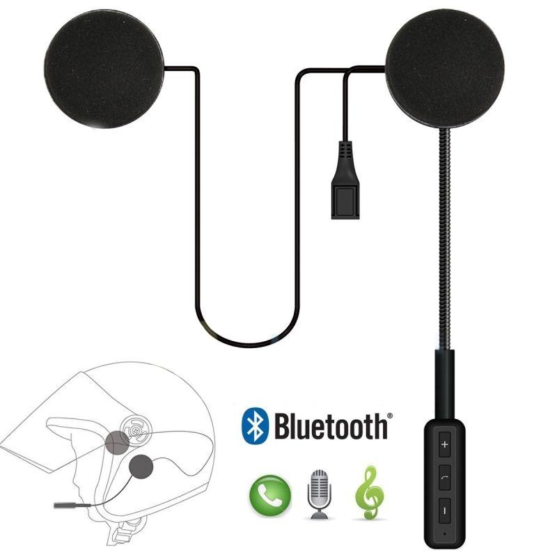 ostart headset microphone wireless bluetooth 4 0 dual stereo speakers hands free handsfree music. Black Bedroom Furniture Sets. Home Design Ideas