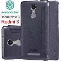 For Xiaomi Redmi Note 3 Nillkin Sparkle Leather Flip Case Cover For Xiaomi Redmi Note 3