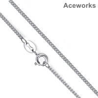 Aceworks Real 925 Sterling Silver Chain 16 18 Fit For Pendant Charm For Women Men Luxury