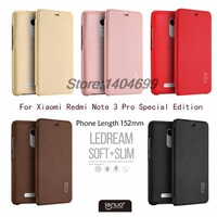 Xiaomi Redmi Note 3 Pro Special Edition Case Lenuo PU Flip Case For Xiaomi Redmi Note