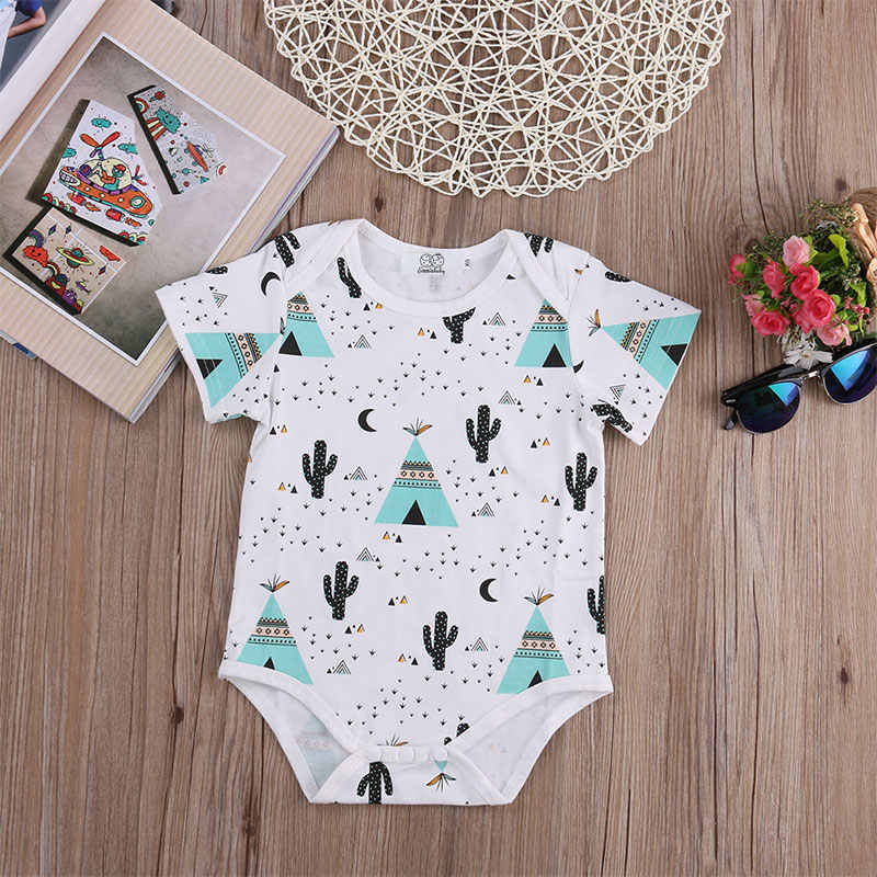 f0647206681a ... 2017 Infant Baby Boy Girl Rompers Clothes Cotton pineapple Jumpsuit Outfits  Newborn Kids Boys Girls Romper