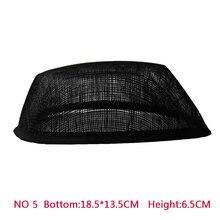 New Style 18*13.5 cm Sinamay Airhostess Hat Base 10pcs/lot #2 Color
