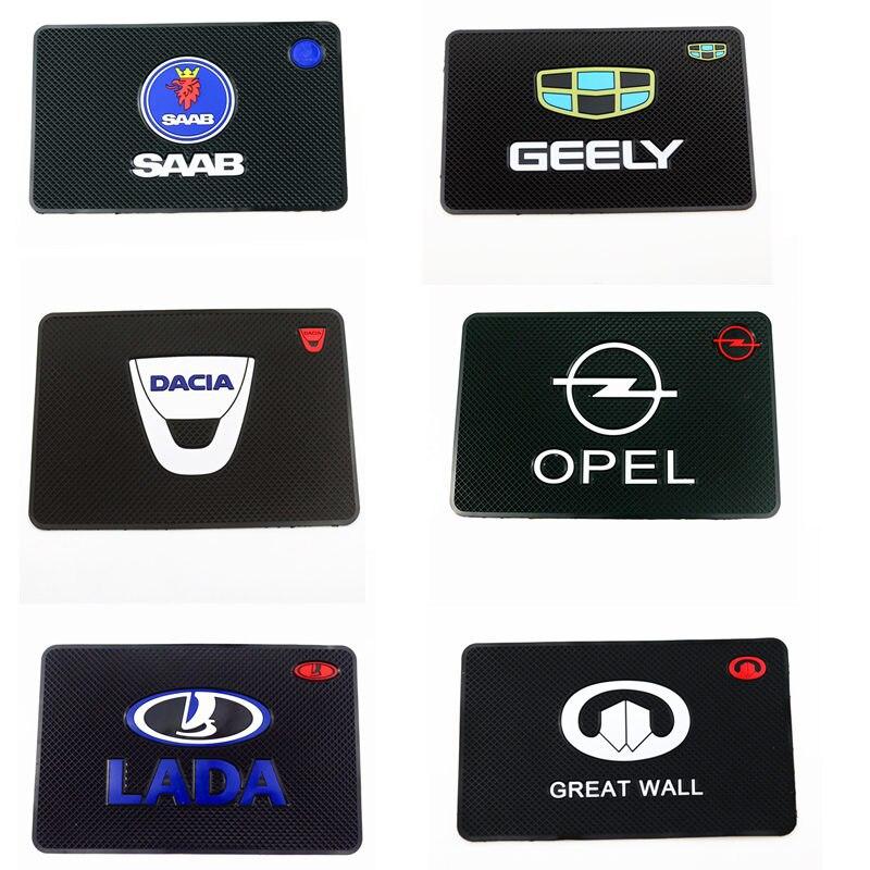 Car-Styling Car Sticker Mat Case For Renault Opel Lada Fiat Dacia Mazda Ford Toyota Peugeot Kia Audi Bmw Car Styling