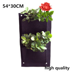 400g m2 vertical garden planter wall mounted polyester home gardening flower planting bags living indoor wall.jpg 250x250