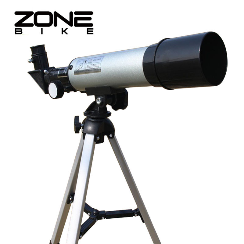 ZONEBIKE Zoom HD 300X Outdoor Space Astronomical Telescope Monocular With Tripod 360/50mm Telescopic Spotting Scope For Children 20 60x70 zoom spotting scope monocular outdoor telescope with portable tripod monoculares professional bird animal telescope