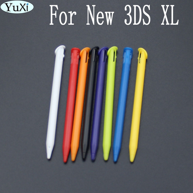YuXi BLACK For Nintendo Stylus 1 PC Plastic Touch Pen Compact Stylus Screen Stylus Pen 3 Colors For Nintendo NEW 3DS LL/XL