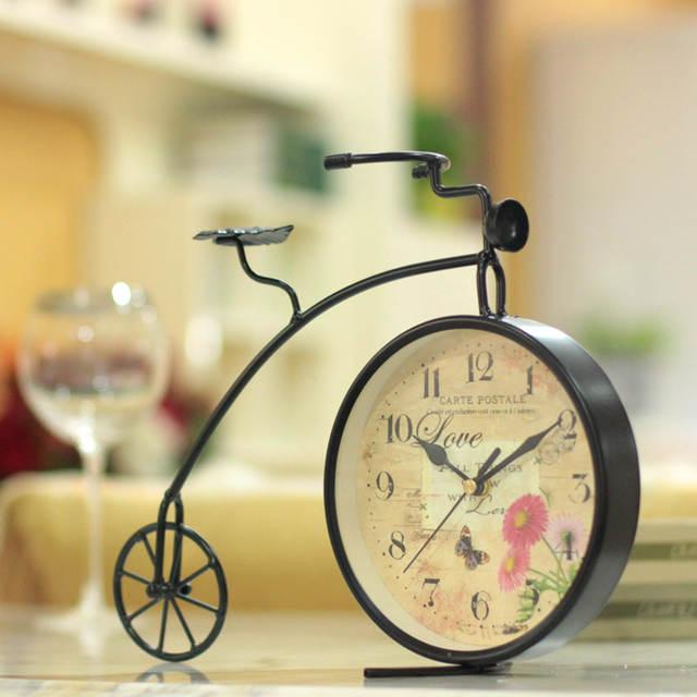 df0c1b0d5df placeholder Ferro forjado relógio bicicleta relógio relógio relógio de mesa  relógio decoração relógio de moda relógio mudo