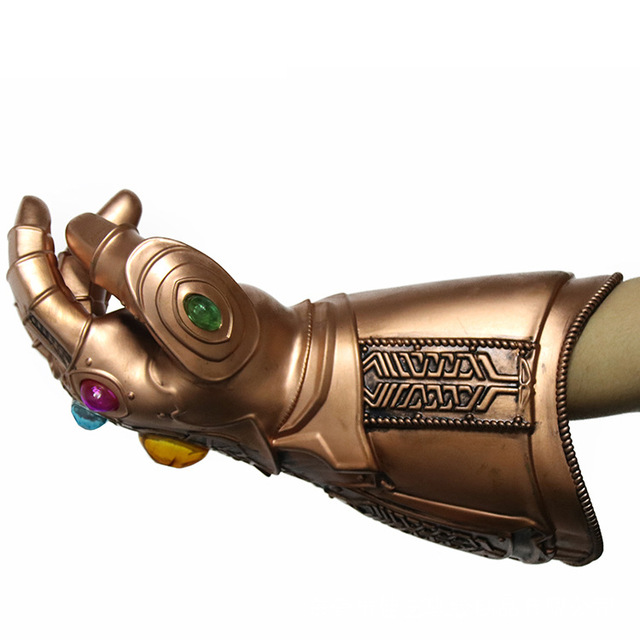 Endgame Thanos Led Infinity Gauntlet Infinity Stones War Led Glove Mask Kids&Adult Halloween Gift Cosplay 1