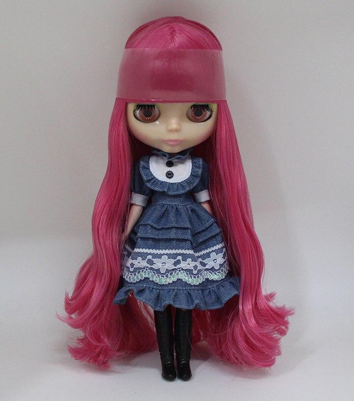 กุหลาบสีแดงยาวผม035เปลือยตุ๊กตาไบลท์ตุ๊กตาโรงงานเหมาะสำหรับDIYเปลี่ยนBJDของเล่นสำหรับเด็กผู้หญิง-ใน ตุ๊กตา จาก ของเล่นและงานอดิเรก บน   1