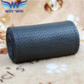 Gray  Genuine Leather Steering Wheel Cover Car   Accessories Volante  Esportivo DIY Handmade Case With Needles and Thread