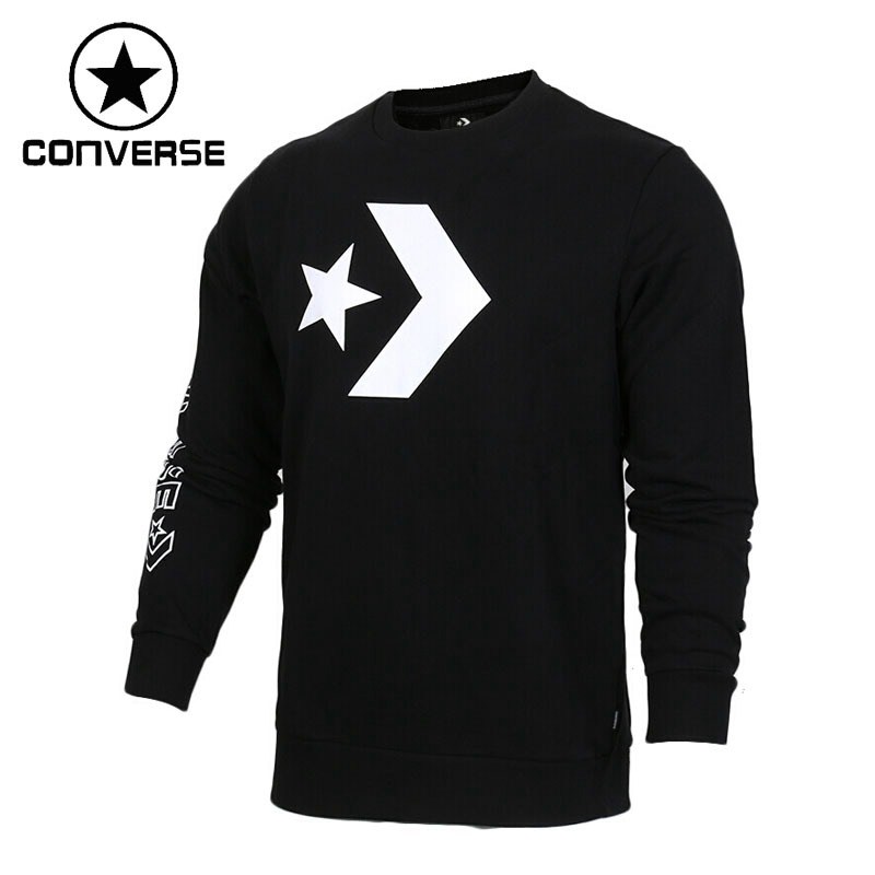 Original New Arrival 2018 Converse Men's Knitted Pullover Jerseys Sportswear original adidas men s knitted pullover ab4373 ab4374 jerseys sportswear free shipping page 10