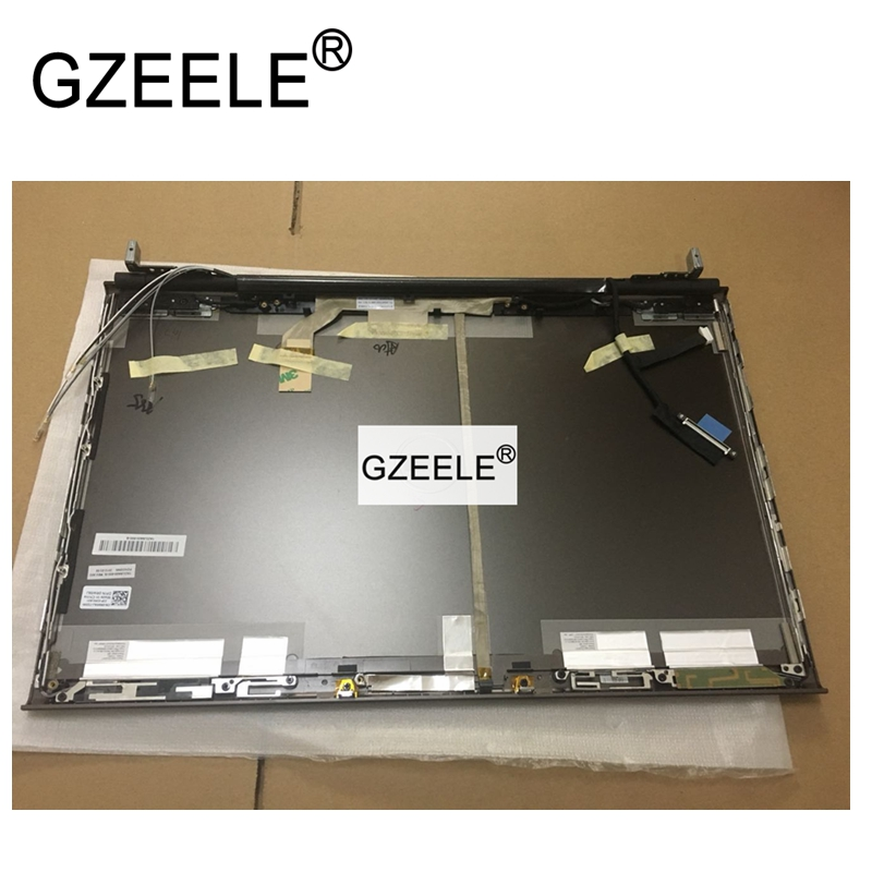 GZEELE NEW for Dell Precision M6600 LCD Back Cover W/ Hinges For 17.3 Touchscreen K5W3R 0K5W3R RW56J Lid Assembly with top case цена