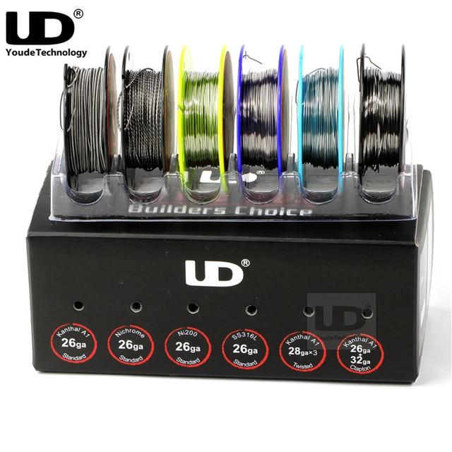 Original Youde UD Draht Box mit KA1 SS316L Ni200 Nichrom 6 Arten von ...