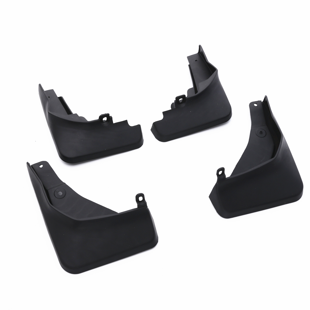 Car-Accessories Dirt-Fender-Cover JY Audi Q2 Mudguard ABS For 4xblack Flaps Styling