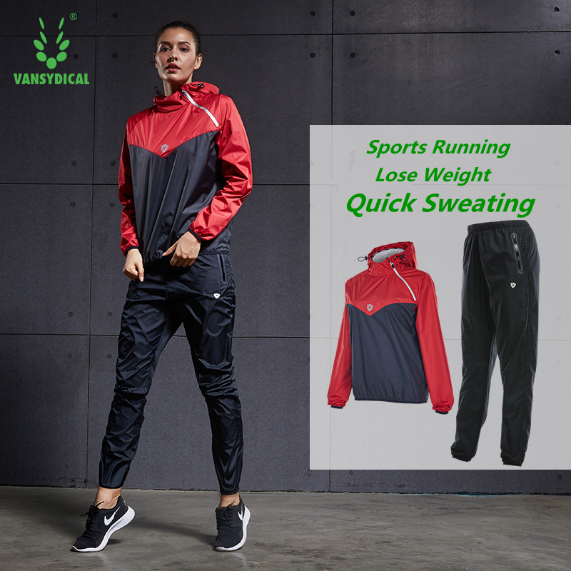 Vansydical Sports Suits Women s Gym Running Yoga Sets Quick Sweating Sportswear Fitness Training Clothes Jogging