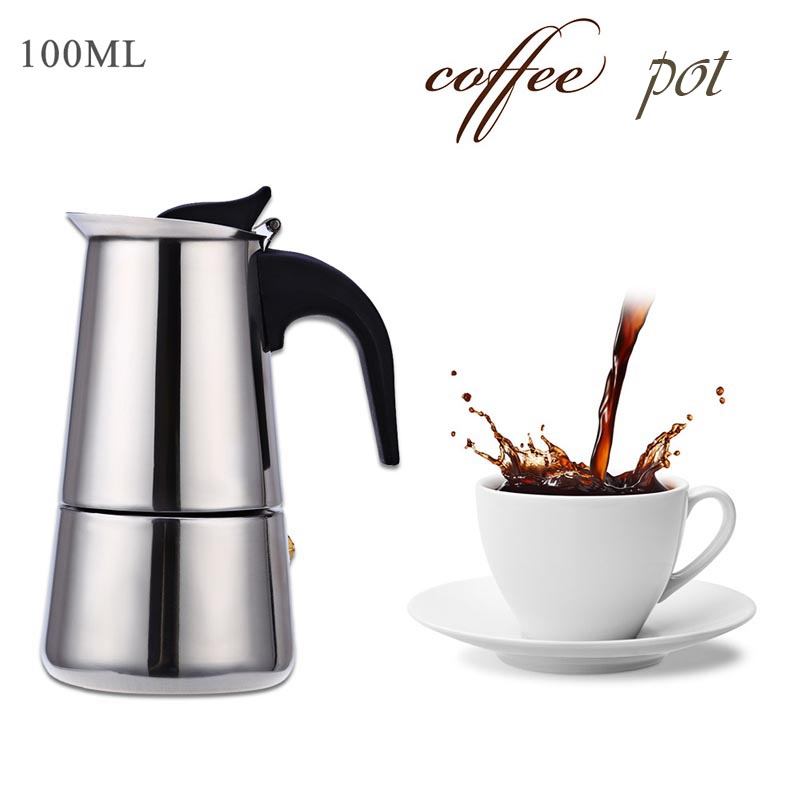 Cafetiere Espresso Maker ~ Ml stainless steel espresso coffee pots cafetiere moka